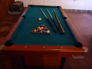 Tavolo biliardo carambola posot class - Misure tavolo da biliardo ...