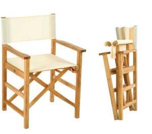Sedia Da Regista Legno.Sedie Da Regista In Cuoio E Bamboo Posot Class