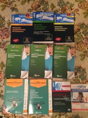 Libri test di medicina e chirurgia