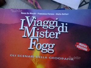 Libro geografia I Viaggi di Mister Fogg 1
