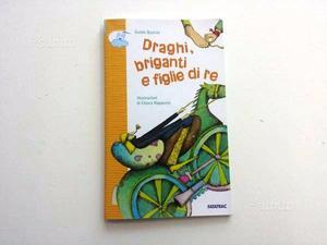 Libro per bambini Draghi Briganti e Figlie di Re