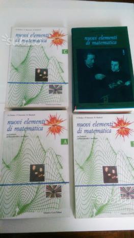 Nuovi Elementi di matematica A, B, C, 2