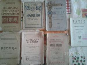 Opere e riviste antiche