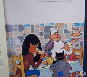 """3 libri """"le avventure di Pinocchio"""" anni '70"""