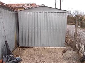 baracca da cantiere in lamiera zincata da 6ml posot class