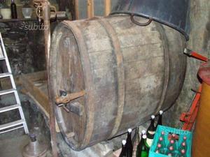 Botte legno per vino