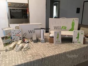 Console Nintendo Wii + Wii Fit + Accessori