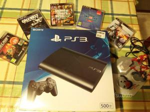 PS3 Slim 500 Giga