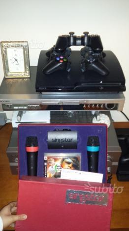 PS3 slim controller e giochi