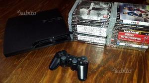Playstation 3 Slim 160 GB 21 giochi Ps3