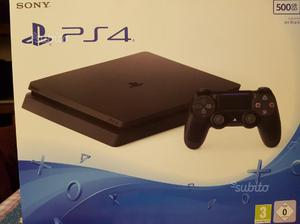 Playstation 4 slim 500 GB nuova con 1 gioco