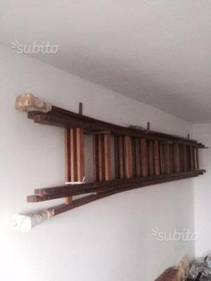 Scala in legno estensibile