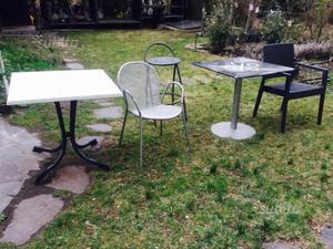 Sedie plastica usate posot class - Tavoli e sedie da giardino ...