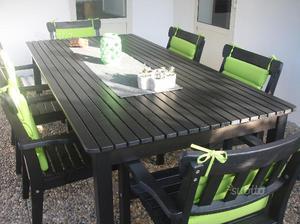 Tavolo in legno da giardino ikea bologna  Posot Class