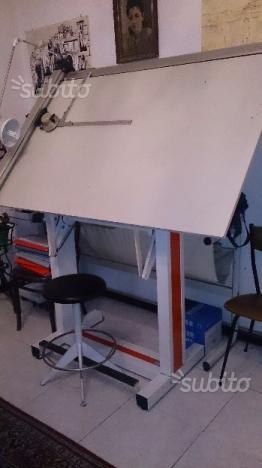 Tavolo da disegno bieffe 3t con sgabello  Posot Class