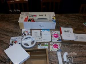 Wii nintendo con giochi
