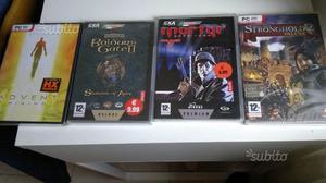 5 giochi PC Sigillati nuovi(Rimanenze di Magazzin