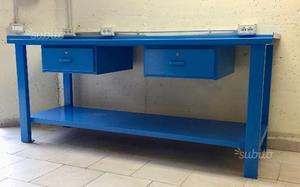 Tavolo Da Lavoro Per Garage : Armadio banco da lavoro portautensili sogi sistema garage