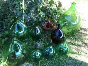 damigiane per decorare il vostro giardino | posot class