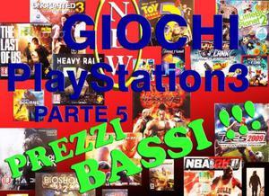 Listino Giochi PS3 Originali: P - R