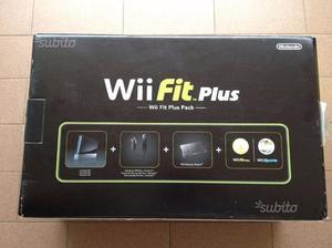 Wii Fit Plus Pack Console + Balance Board Nera Imb