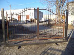 Cancello in ferro di 360 x 170 x 200