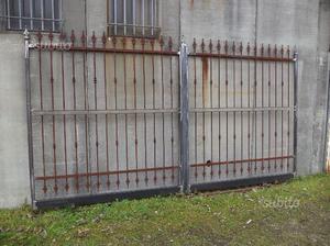 Cancello in ferro di 400 x 215
