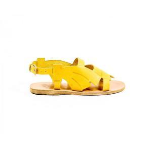 Carven Womens Flat Sandal SANDALE BASSE 222 BANANE