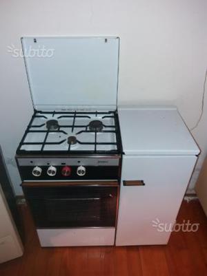 Cucina gas con forno - vintage