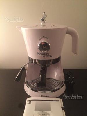 Macchina da caffè Moka aroma Ariete bianca