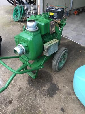 Motopompa 21 hp lombardini