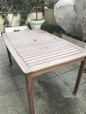 Tavolo in legno da giardino ikea bologna posot class - Tavolo in legno da giardino ...
