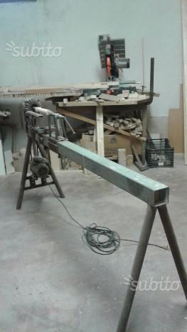 Tornio artigianale lavorazione legno
