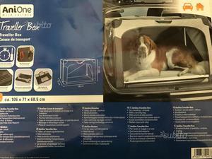 Trasportino pieghevole per cani