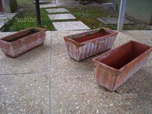 Vasi terracotta rettangolari posot class for Vasi terracotta usati