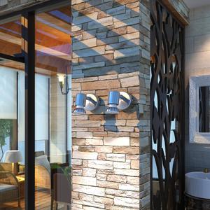 vidaXL 2x Lampada da soffitto in metallo nichel satinato con