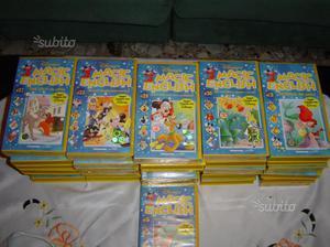 31 cassette in vhs di carton animati Magic English