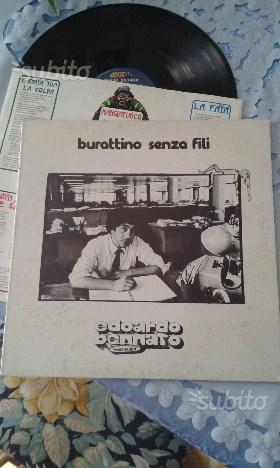 33 giri Edoardo Bennato Burattino Senza Fili