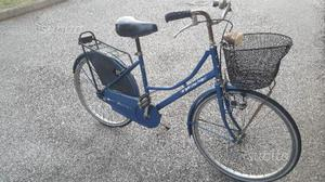 Bicicletta da donna vintage da 24 con cesto tiess