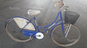 Bicicletta da donna vintage da 26 bemmex con cesto