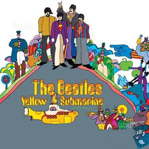 "LP Beatles ""Yellow submarine"""