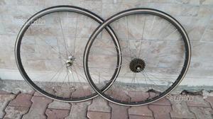Ruote Campagnolo Record mavic bici corsa vintage