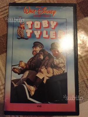Vhs Walt Disney rarissima 1'ediz: Toby Tyler