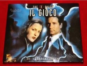 X FILES IL GIOCO con VHS - trivial game