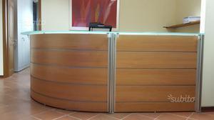 Reception per ufficio occasione posot class for Bancone ufficio