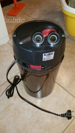 Haquoss evolution ecoled 56 filtro hydor prime10 posot class for Filtro tartarughiera esterno
