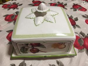 Porta torta porcellana