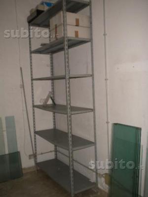 Scaffali metallo per magazzino o garage  Posot Class