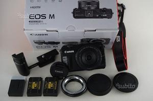 Canon EOS M + ottica 22mm f2 in garanzia