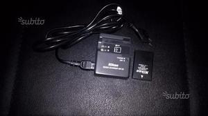 Caricabatterie e batteria Nikon EN-EL9